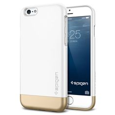 Spiegen - iPhone 6 Case Style Armor (4.7) [Shimerry White]