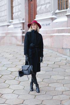 Ganni Fenn wrap coat / Winter Fashion / Style Plaza