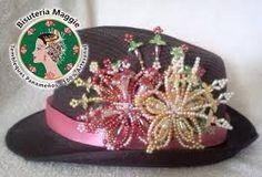 Resultado de imagen para sombreros decorados con tembleques
