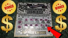 Winning Ticket 10th Anniversary RICHES NC Lottery