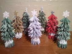 How to make small Christmas Tree (updated) - YouTube