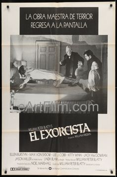 Happy Birthday #WilliamFriedkin https://eartfilm.com/products/exorcist-william-friedkin-ellen-burstyn-linda-blair-max-von-sydow-lee-j-cobb #directors #directing #filmmakers #filmmaking #TheExorcist #Scorcerer #movie #movies #poster #posters #film #cinema #movieposter #movieposters    Exorcist-William Friedkin-Ellen Burstyn-Linda Blair-Max Von Sydow-Lee J. Cobb
