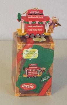 Coca Cola Treasury Ornaments Collectors Club 1997 3rd Issue In The Train Series #TreasuryOrnamentsCollectorsClub