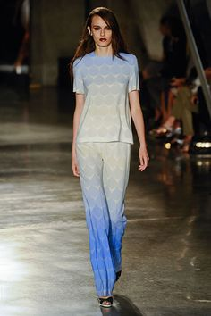 Jonathan Saunders Spring 2013 --- the fade of the print makes this stand out