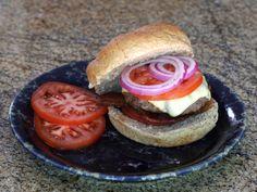 Mushroom Stuffed Burgers   By Diana Rattray,  Southern Food Expert