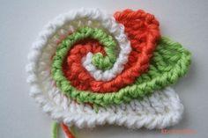 Freeform Crochet Spiral Scrumble - Tutorial ❥ 4U // hf