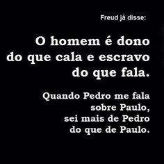 Freud já disse