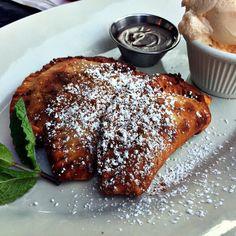 Platano empanadas #buleriastapas #foodie #foodiechats #eeeeeats #foodgays #chicagofoodies #chicagofoodscene #huffposttaste #instayum #forkyeah #top_food_of_instagram #foodporn #foodblogger  #windycitybloggers #chicagofoodauthority #chifood #chieats  #vscofood #vscocam #onthetable #igerschicago #eatincolor #foodstarz #everythingerica by windycitydinnerfairy