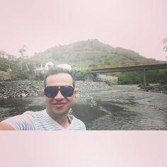 Nada como un baño en riom Desde Tobia. #paisaje #rio