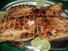 peixe, peixe assado, peixe na brasa, peixe na churrasqueira, peixe na grelha, tempero para peixe assado