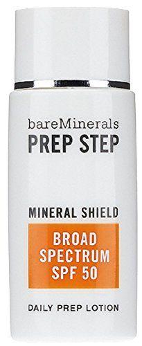 bareMinerals Prep Step Broad Spectrum SPF 50 Mineral Shie...