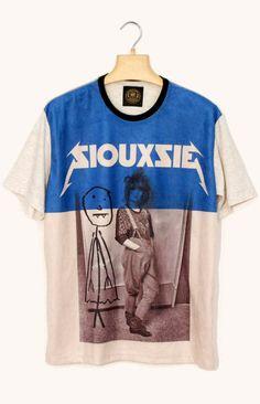 1323b5d9a63 T-shirt Siouxsie and the Banshees Rock Shirts