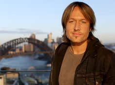 Keith with the Sydney Harbour Bridge as he prepares for the Live final of @TheVoice Australia