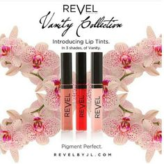 Introducing Julian Lark's new fabulous  @revelbyj #sheer #liptints for a natural looking lip with a POP of color Our easy apply applicator makes it great for the perfect on-the-go look! Check them out on REVELBYJL.COM in new colors (L-R) Nasty Girl, She Did That, and Please Me! #revelgirl #revelbyjlosmetics #revelbyjl #makeup #makeupjunkie #colorpop  #beauty  #lipluster