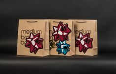 Marks & Bleed Fine Packaging - Bloomindale's Holiday Bags