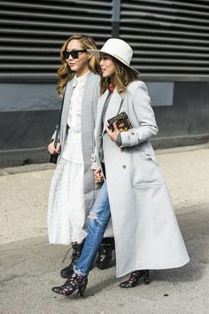 New York Street Styles | Shades of Grey