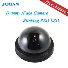 JOOAN de interior/al aire libre Wireless Falso Muñeco de Vigilancia de Ir Led cámara domo inicio de Seguridad CCTV Cámara Simulada de Vigilancia de vídeo