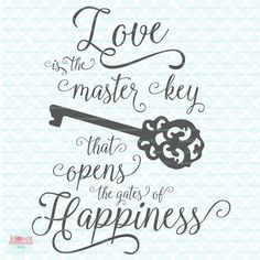 Homeberries Love is the Master Key to Happiness