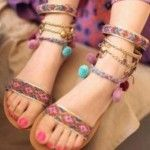 Trendy footwear for girls