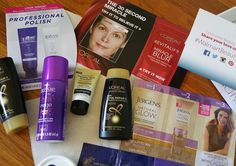 Cosmetichaulic.com - my first Walmart beauty box - not very exciting but practical I guess #walmartbeautybox #practical #Nivea #aussie #l'oreal