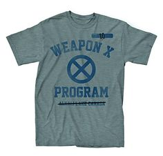 Marvel XMen Wolverine Test Subject 10 Grey TShirt  XL ** You can get additional details at the image link.Note:It is affiliate link to Amazon.