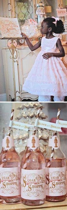 Nutcracker/Sugar Plum Fairy Winter Themed Party