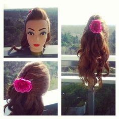 cute easy curls updo   Wanna try it click on the link down below   https://www.youtube.com/watch?v=dpsPpxQRHpk&list=UUnmRBhQACSjFwXVSfTzokKA