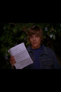 Troy Bolton during the balcony scene in the first movie always thought this part was so cute :)