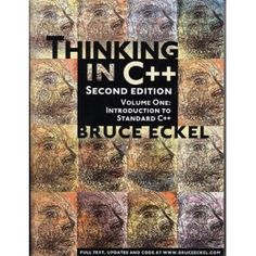 Thinking in C++, Vol. Introduction to Standard C++, Edition, a book by Bruce Eckel Computer Technology, Computer Science, C Programming Book, Online Middle School, Good Books, Books To Read, It Network, Textbook, Books Online