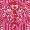 Norwegian Wood in Red