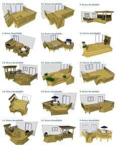 porch deck designs | deck plan pictures are courtesy of To purchase deck plans… - #trending #searches #trend