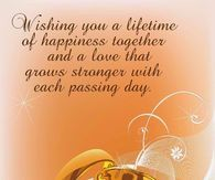 Wishing you a lifetime of happiness together and a love that grows stronger with each passing day Diary Book, My Diary, Facebook Image, For Facebook, Anniversary Poems, Wish, Life Quotes, Photos, Pictures
