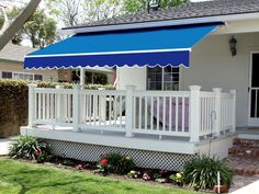 Exterior Retractable Awning With Sides Umbrella Also How Much Is A Sunsetter And Lights