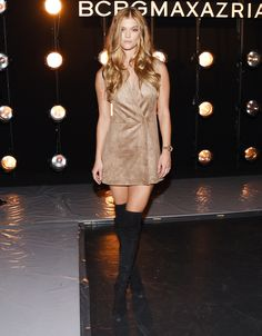 Our Favorite Stars Kick Off New York Fashion Week in the Front Row - Nina Agdal  - from InStyle.com