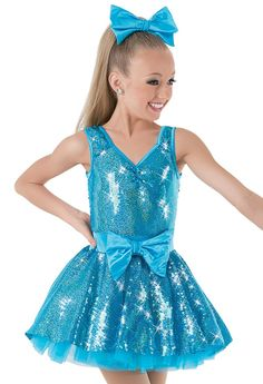 Dance studio owners & teachers shop beautiful, high-quality dancewear, competition & recital-ready dance costumes for class and stage performances. Pop Star Costumes, Cute Dance Costumes, Duo Costumes, Dance Outfits, Dance Dresses, Girls Dresses, Sequin Party Dress, Dance Leotards, Skating Dresses