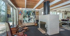 Midcentury Haverford home with floor-to-ceiling windows asks $585K