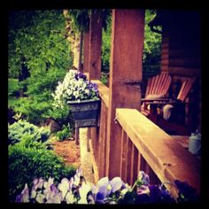 Our spring porch