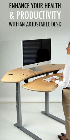 11 best biomorph standing desks images in 2019 adjustable desk rh pinterest com
