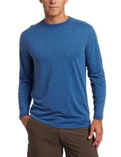 Amazon.com: ExOfficio Men's Exo Dri Long Sleeve Crew: Clothing