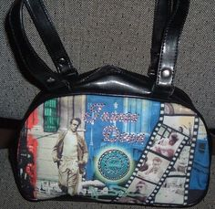 'James Dean Handbag' is going up for auction at  9am Tue, Dec 11 with a starting bid of $15.