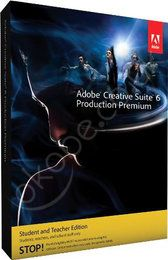 Adobe CS6 Production Premium 6 Windows - Student and Teacher  http://www.okobe.co.uk/ws/product/Adobe+CS6+Production+Premium+6+Windows+Student+and+Teacher+End+User+has+to+prove+Eligibility+in/1000121959