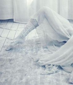 'A White Story' by Paolo Roversi for Vogue Italia