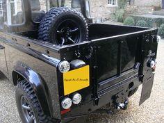 Land Rover Defender Puma Pickup Black 90