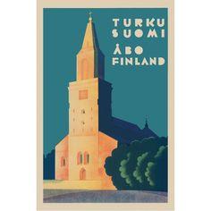 Turku: Tuomiokirkko postcard