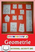 Geometrische Formen - Kinder erstellen ein Lapbook im Mathematikunterricht (Klassen 2-4)  Suchen Sie ein Material, mit dem Sie geometrische Formen erarbeiten oder wiederholen können? Dann gestalten Sie mit Ihren Lernenden in der 2., 3. oder 4. Klasse ein Lapbook.