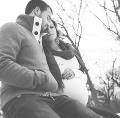 Couple maternity winter photography - balee images