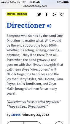 DIRECTIONER IS OFFICIALLY A WORD