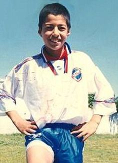 Luis Suarez de pequeño en la Nacional