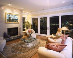 CityView Hillside Houses traditional-living-room