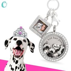 """""""My kids have paws."""" Perfect #gift for the #DogLover from #OrigamiOwl Living #Lockets. #dogs #NationalDogDay #pets"""